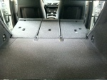BMW X1 split folding rear seats