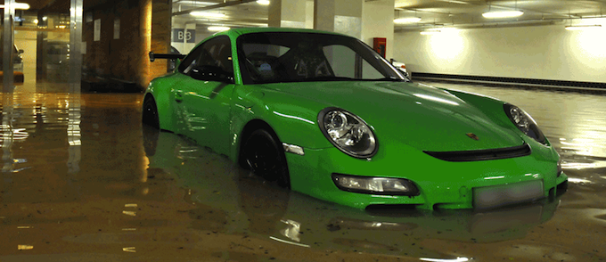 how to tell if car is flood damaged